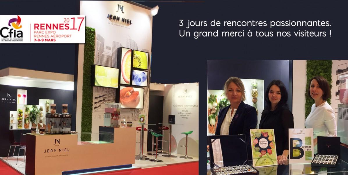 CFIA 2017 – Le rendez-vous français des industriels de l'alimentaire.