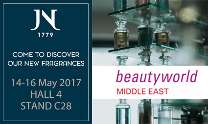 Come to visit us at Beautyworld Middle East (Dubai) – the largest international trade fair for beauty products & fragrances.