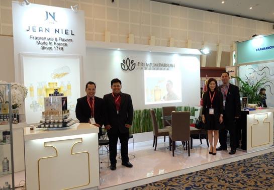 Nous étions présents au salon Indonesian Cosmetic Ingredients avec notre partenaire Premium Parfum – Merci à tous nos visiteurs.