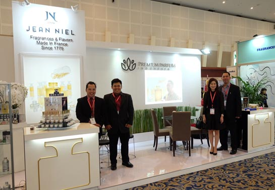 We were present at Indonesian Cosmetic Ingredients tradeshow with our partner Premium Parfum – Thanks to all our visitors.