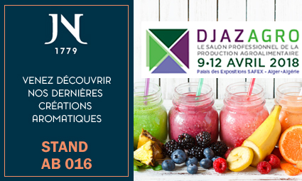 THE JEAN NIEL HOUSE WILL BE PRESENT AT THE DJAZAGRO FAIR IN ALGER FROM 9 TO 12 APRIL 2018.