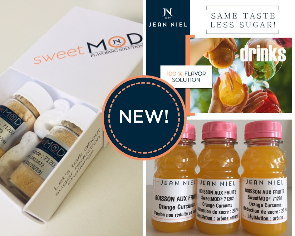NEW – Discover SweetMOD® the Modulating Taste Flavors range of Jean Niel!