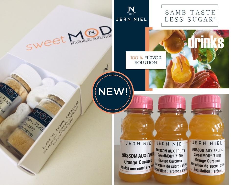 NOUVEAU – Découvrez SweetMOD® les Arômes modulateurs de goût de Jean Niel !