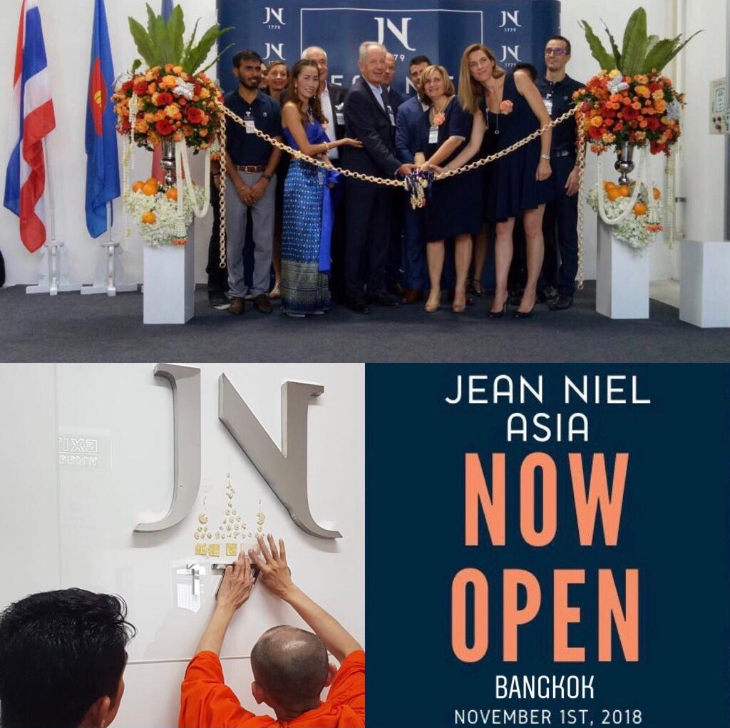 JEAN NIEL extends its international presence