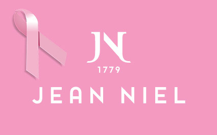 PINK OCTOBER: Jean Niel supports the campaign against breast cancer