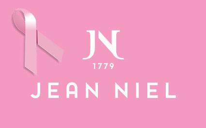 OCTOBRE ROSE : Jean Niel soutient la campagne de lutte contre le cancer du sein
